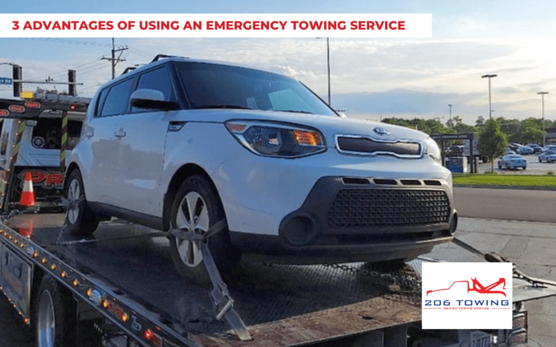 3 Advantages of Using an Emergency Towing Service