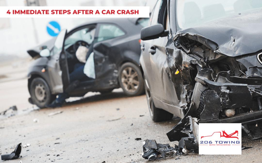 4 Immediate Steps After a Car Crash