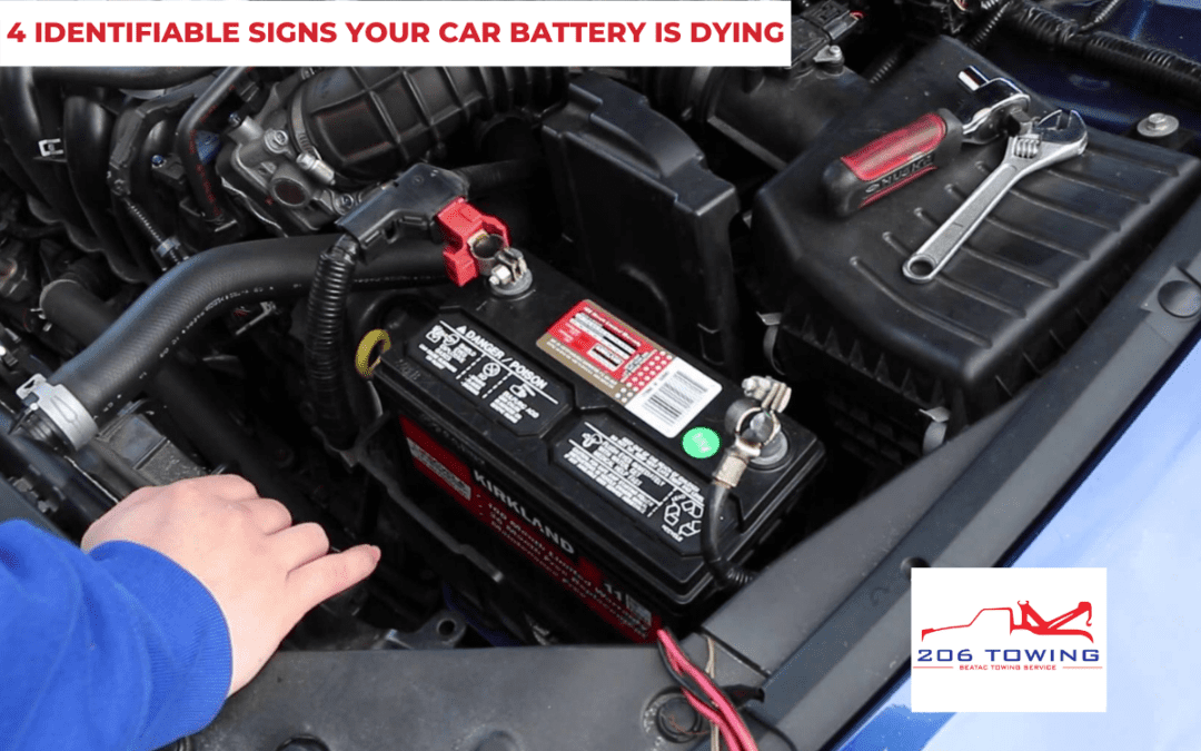 4 Identifiable Signs Your Car Battery is Dying