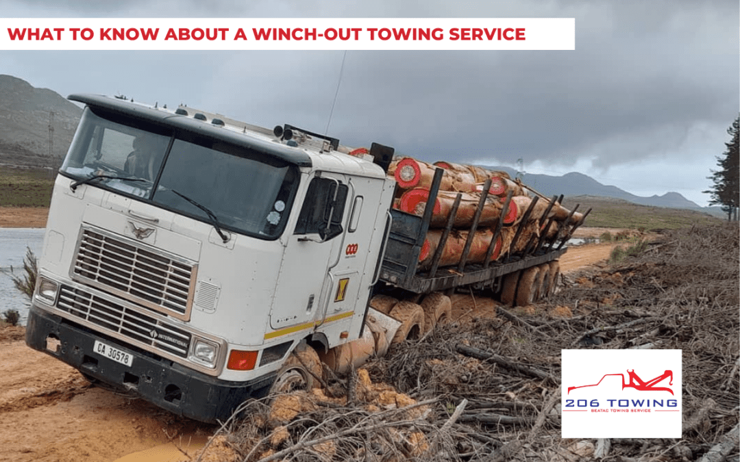 What to Know About a Winch-Out Towing Service