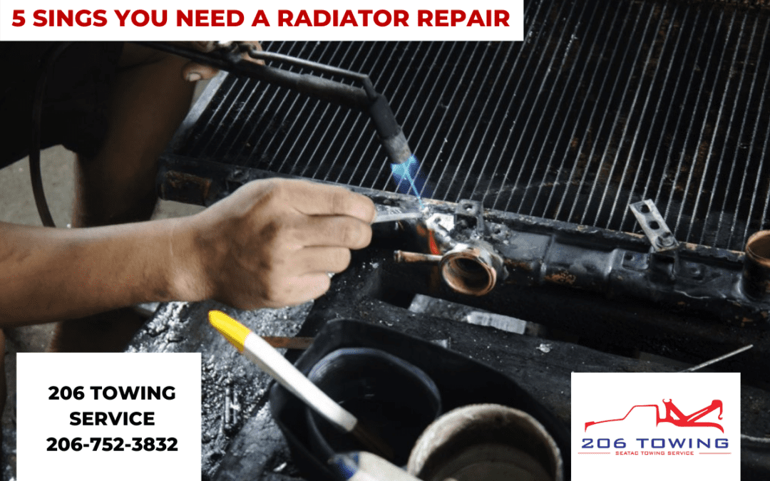 5 Signs You Need a Radiator Repair